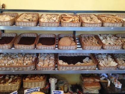 Bread. Always lots of bread.