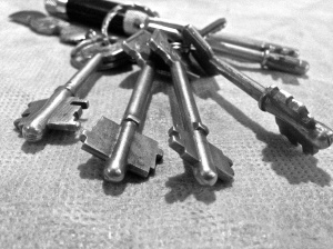 Sadly, Argentine keys don't unlock the secrets of life. Just doors. They're awesome, though.