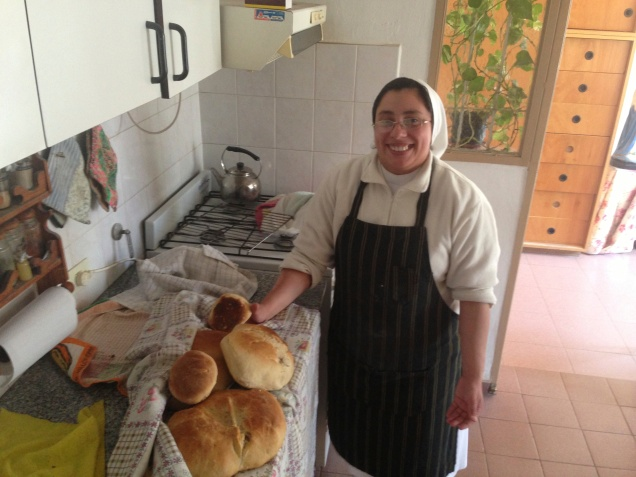 Maria, the master chef!