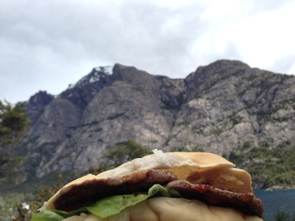 The scale is tough to understand, but this lomito was the size of a mountain.