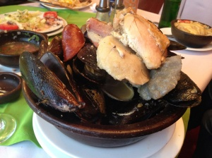 """""""Curanto"""" is Chile's take on gumbo, paella, bouillabaisse, but without rice."""