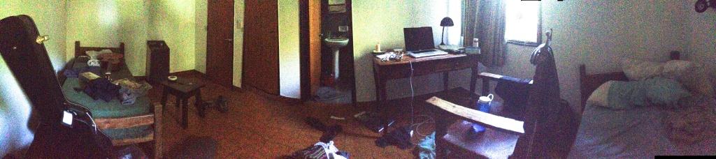 My room. Hermit-style.