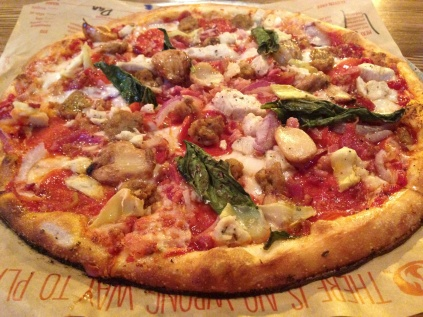 Blaze Pizza is the chipotle of fast food pizza, and a dangerous half-block from my house.